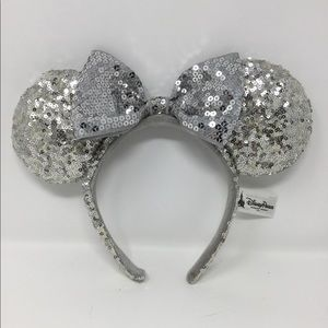 Silver Minnie ears